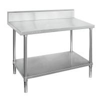 Premium Stainless Steel Bench With Splashback 1200x700