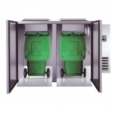 Refrigerated Solid Waster Cooler 2 Bay