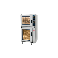 Electric Convection Steamer COMBI, 6 on 10 x 1/1GN tray