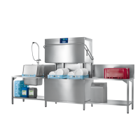 PROFI Series Double Hood-Type Glass and Dishwasher, 120 racks p/h