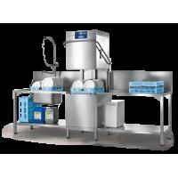 PROFI Series Hood-Type Glass and Dishwasher With Auto Hood Lift and Vapostop, 70 racks p/h