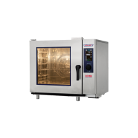 Electric Convection Steamer COMBI, 6 x 1/1 GN tray