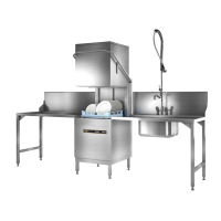 ECOMAX Plus Series Hood-Type Glass/Dishwasher, 60 racks p/h