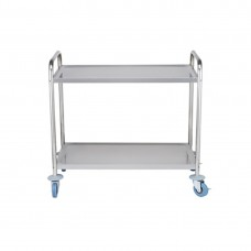 Modular Systems by FED YC-102 S/S Trolley With 2 Shelves 855X535X940