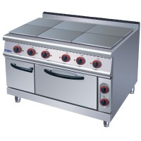 6 Hotplates With Oven