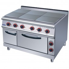 Electmax by FED ZH-TT-6C 6 Hotplates With Oven